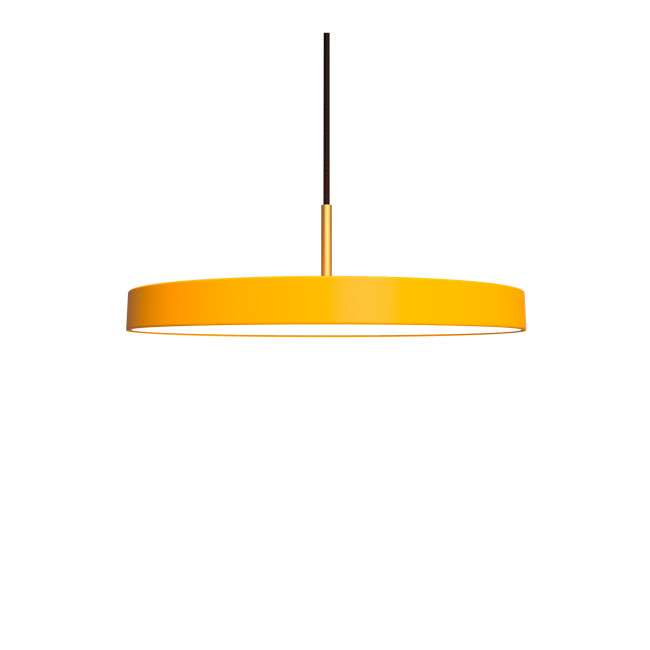 Suspension design Ø43cm Asteria Jaune moutarde