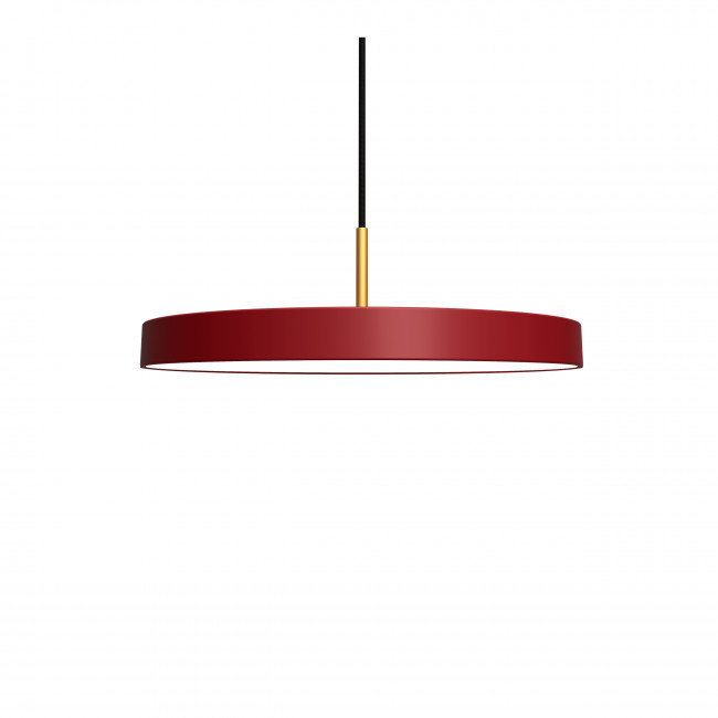Suspension design Ø43cm Asteria Bordeaux