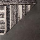 Tapis gris tissé à la main Carve Dutchbone