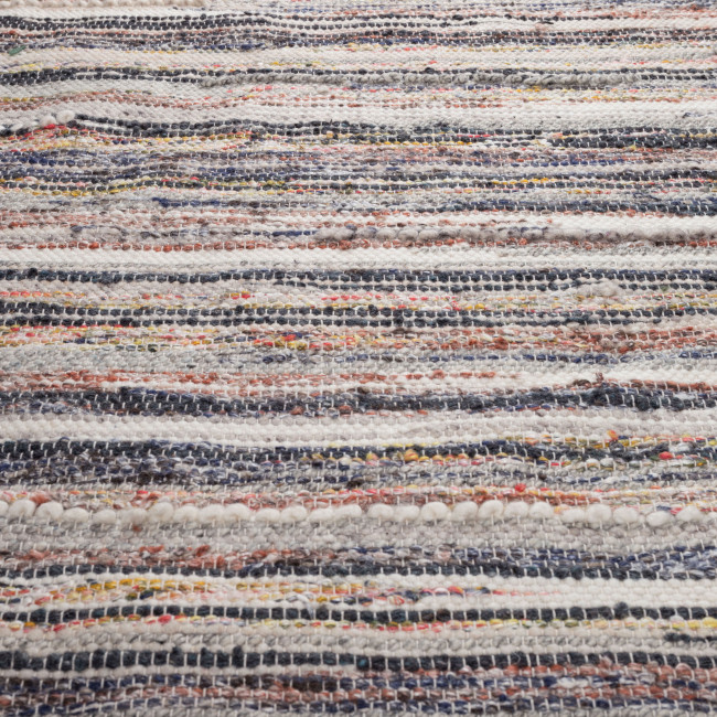 Tapis multicolore tissé à la main Carve Dutchbone