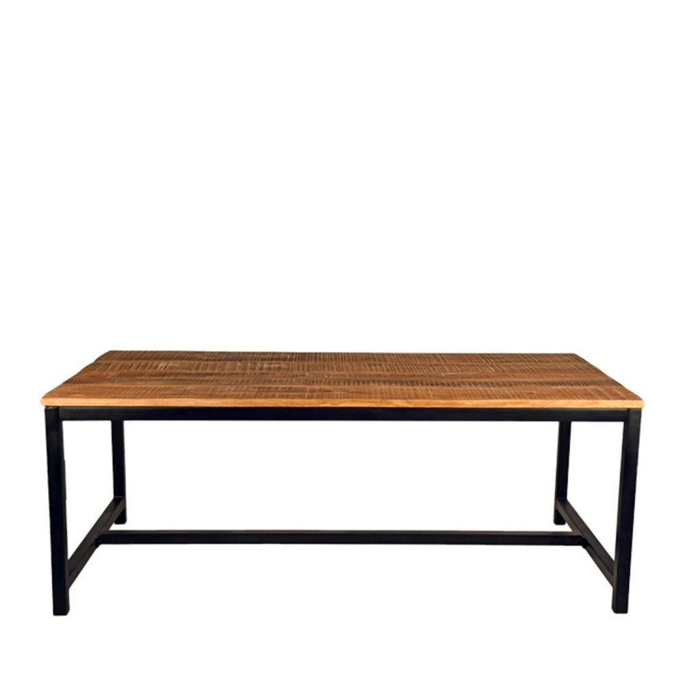 Table manger bois 200x100cm gent label51 drawer for Table a manger bois