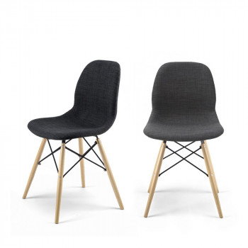Lot de 2 chaises design Doki-Doki Soft