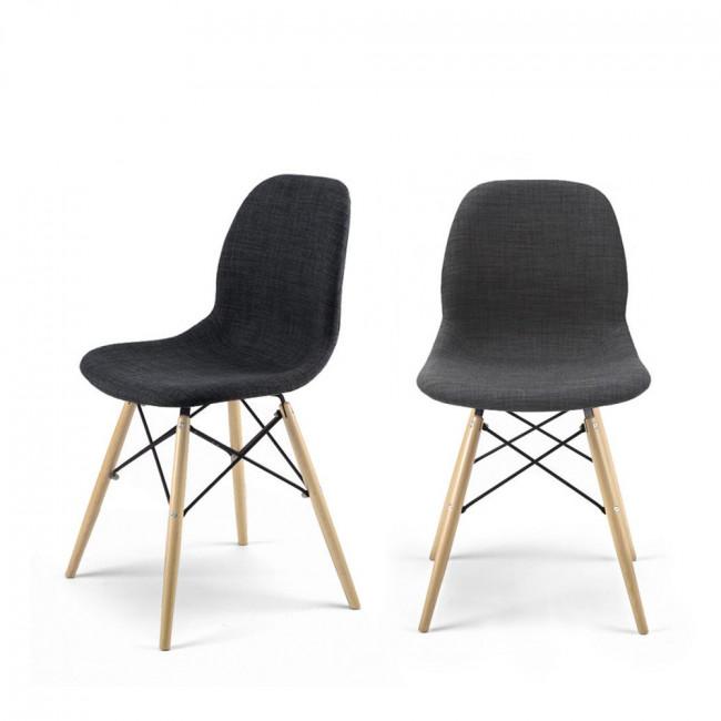 Lot de 2 chaises design Doki-Doki Soft