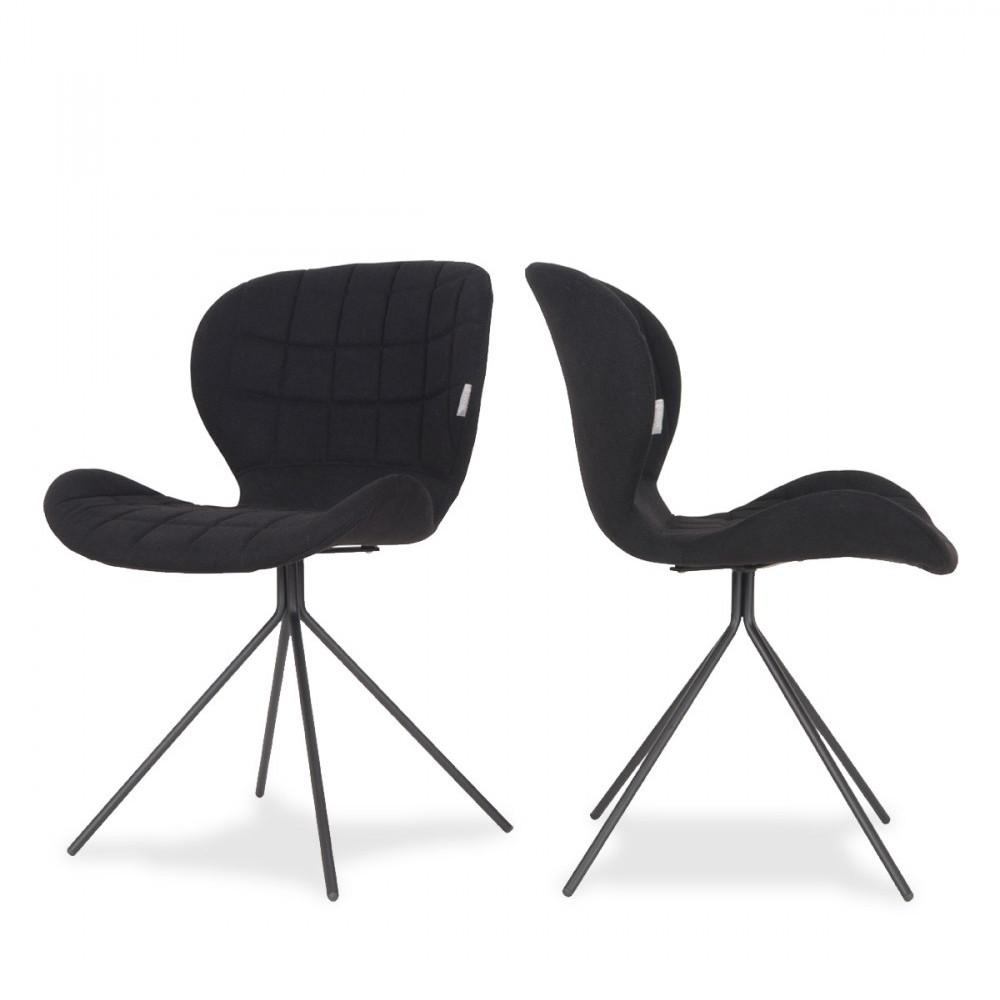 chaises design zuiver style retro bleu pastel omg. Black Bedroom Furniture Sets. Home Design Ideas