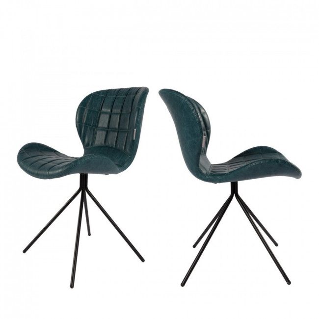 Lot de 2 chaises design OMG Skin