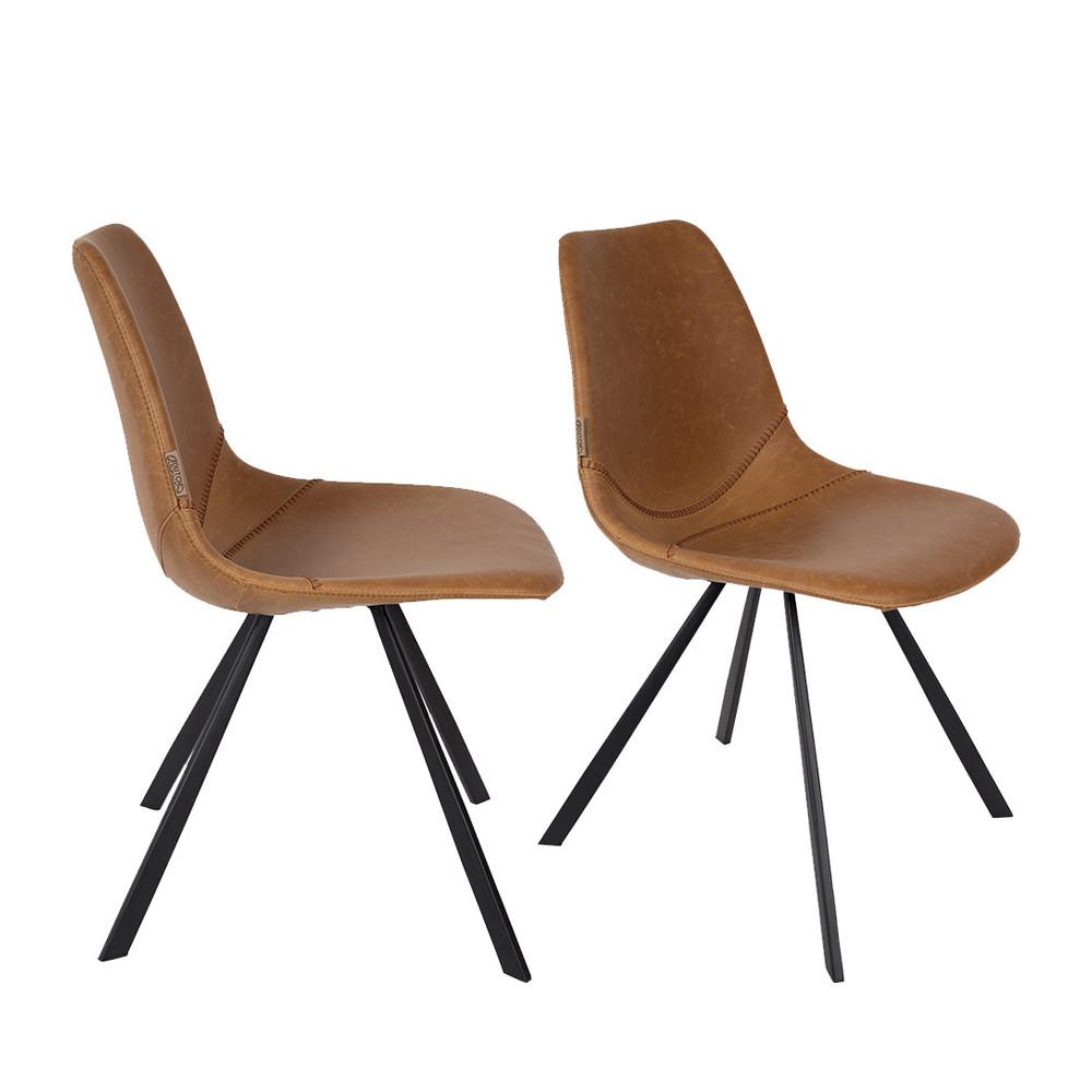 lot de 2 chaises vintage franky drawer. Black Bedroom Furniture Sets. Home Design Ideas