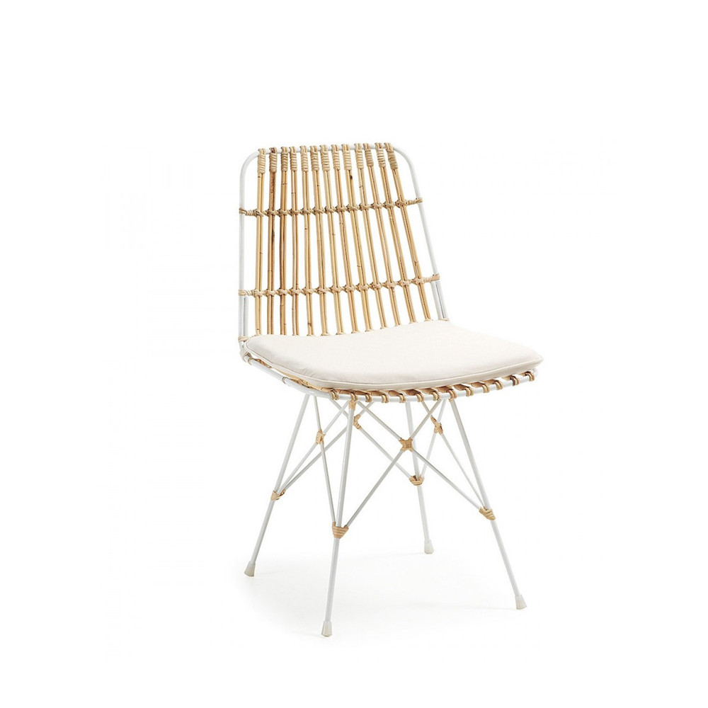 Chaise En Rotin Scandinave By Drawer