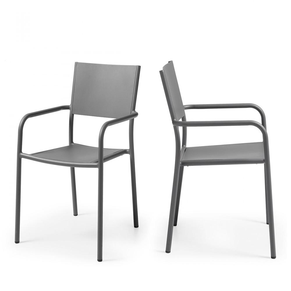 Best table de jardin design aluminium gallery awesome for Table et fauteuil jardin