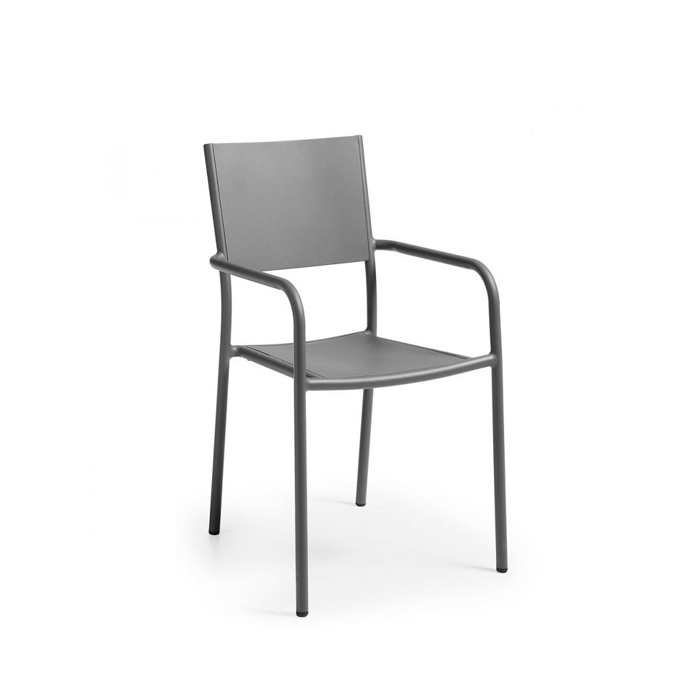 fauteuil de jardin design en aluminium leday. Black Bedroom Furniture Sets. Home Design Ideas