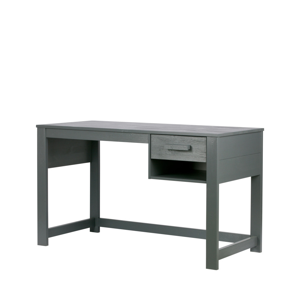 Bureau pour enfant en pin massif denis drawer for Mobilier de bureau denis