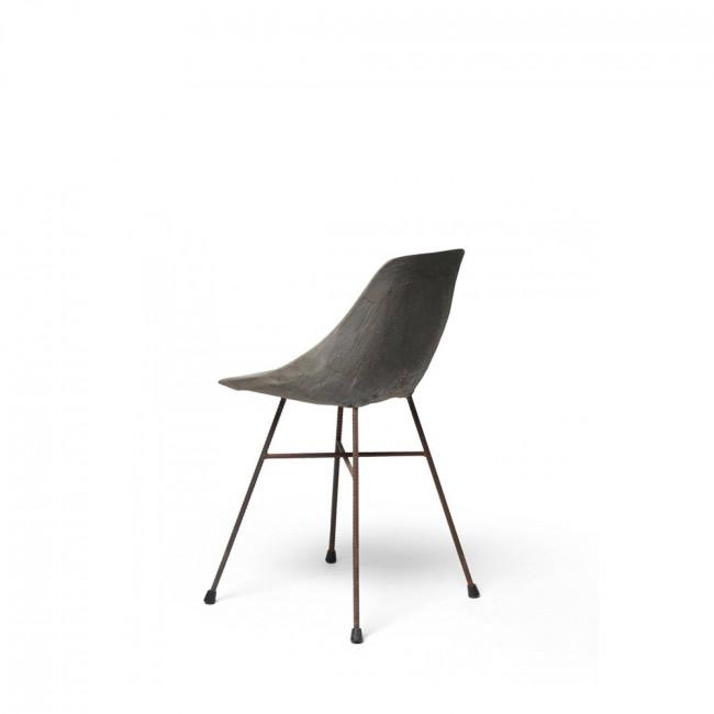 Chaise design béton Hauteville