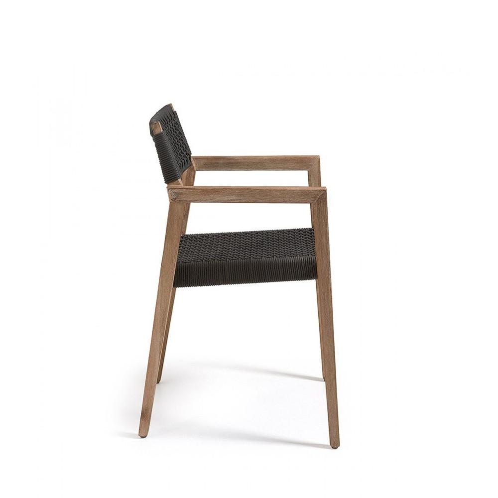 fauteuil de jardin en bois massif style contemporain vetter par. Black Bedroom Furniture Sets. Home Design Ideas