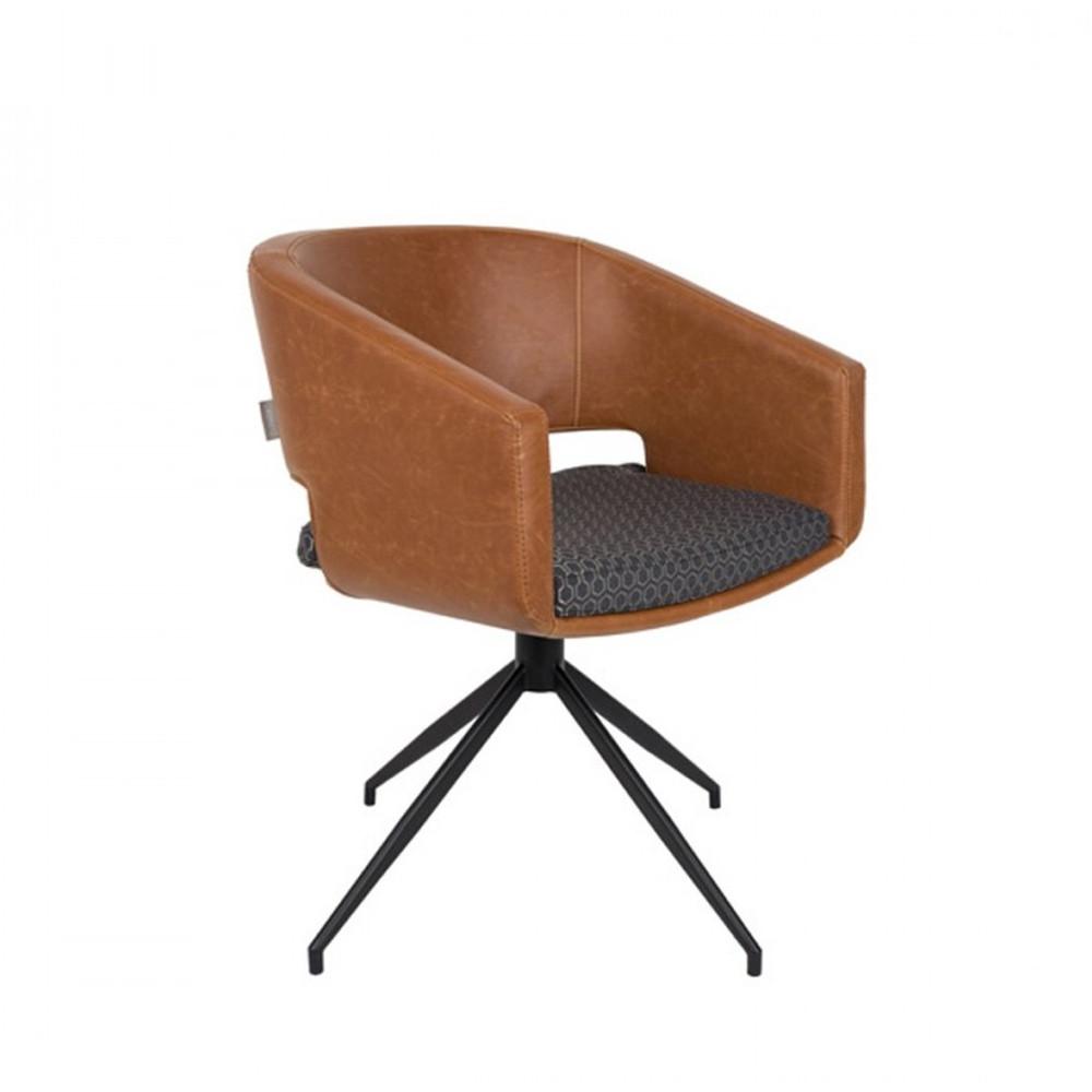 chaises pivotantes vintage beau zuiver. Black Bedroom Furniture Sets. Home Design Ideas