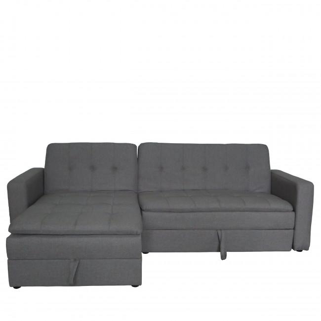 Canapé d'angle convertible avec rangement Gramercy