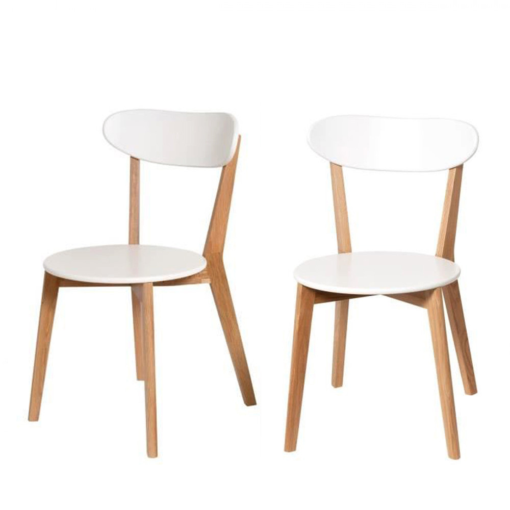 Chaises design scandinave vitak par drawer for Les chaises design