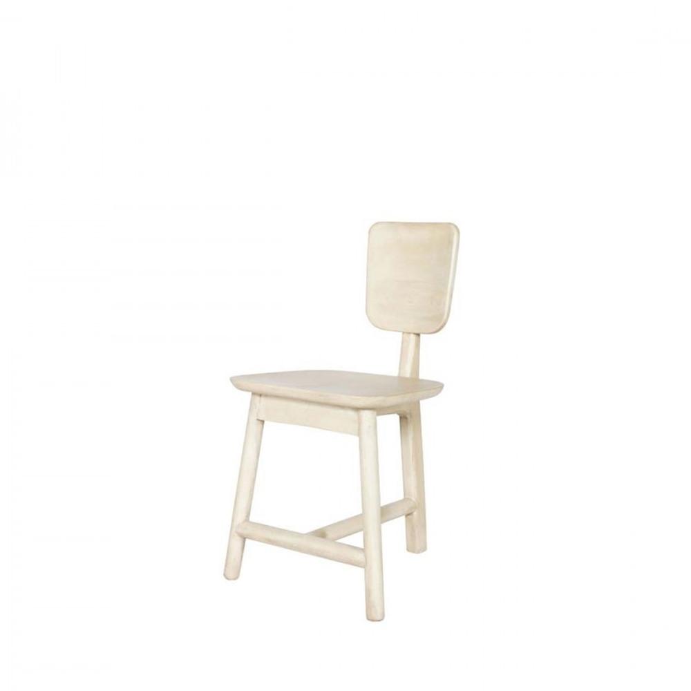 Lot de 2 chaises 3 pieds en bois roost for Chaise 3 pieds