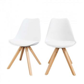 Lot de 2 chaises design Ormond Wood