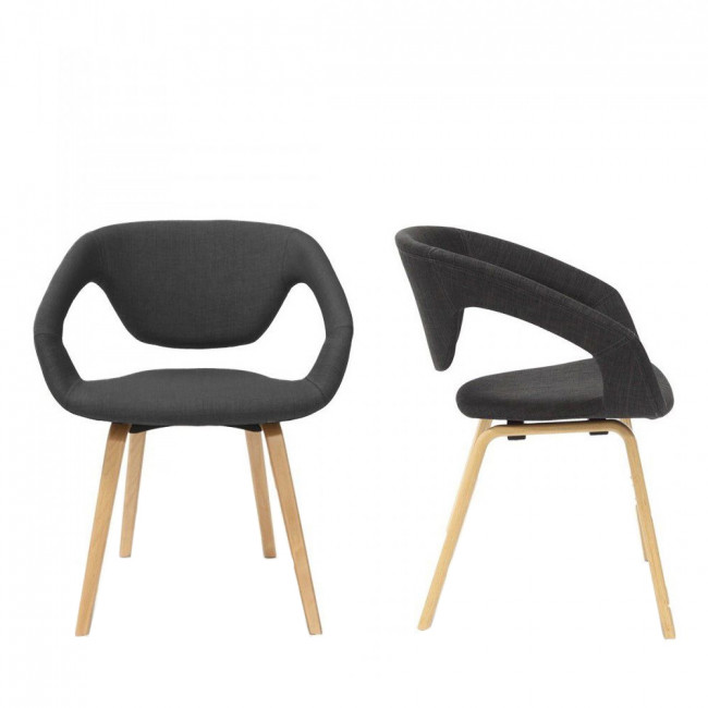 Lot de 2 fauteuils design Natural Flex Back