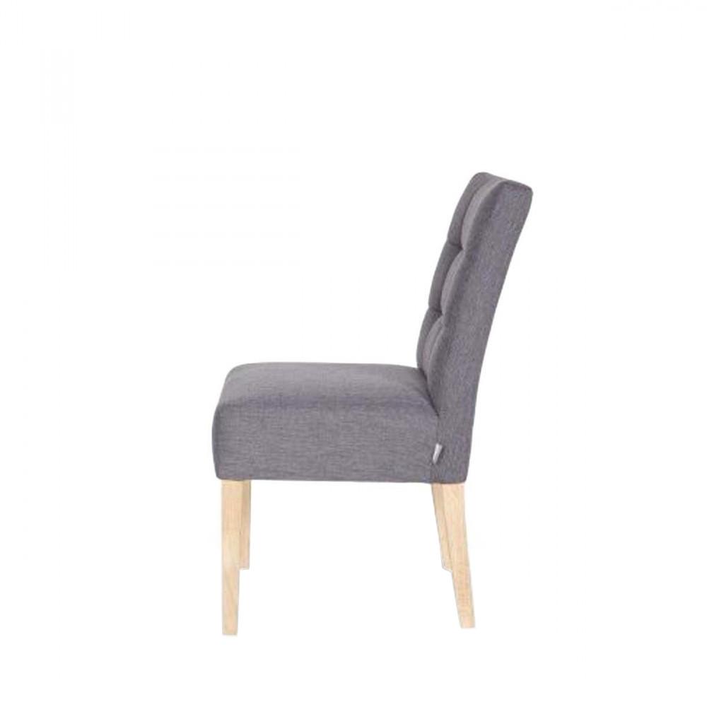 chaise capitonn e gris anthracite pauwel par