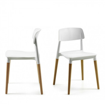 Lot de 2 chaises design Glamwood