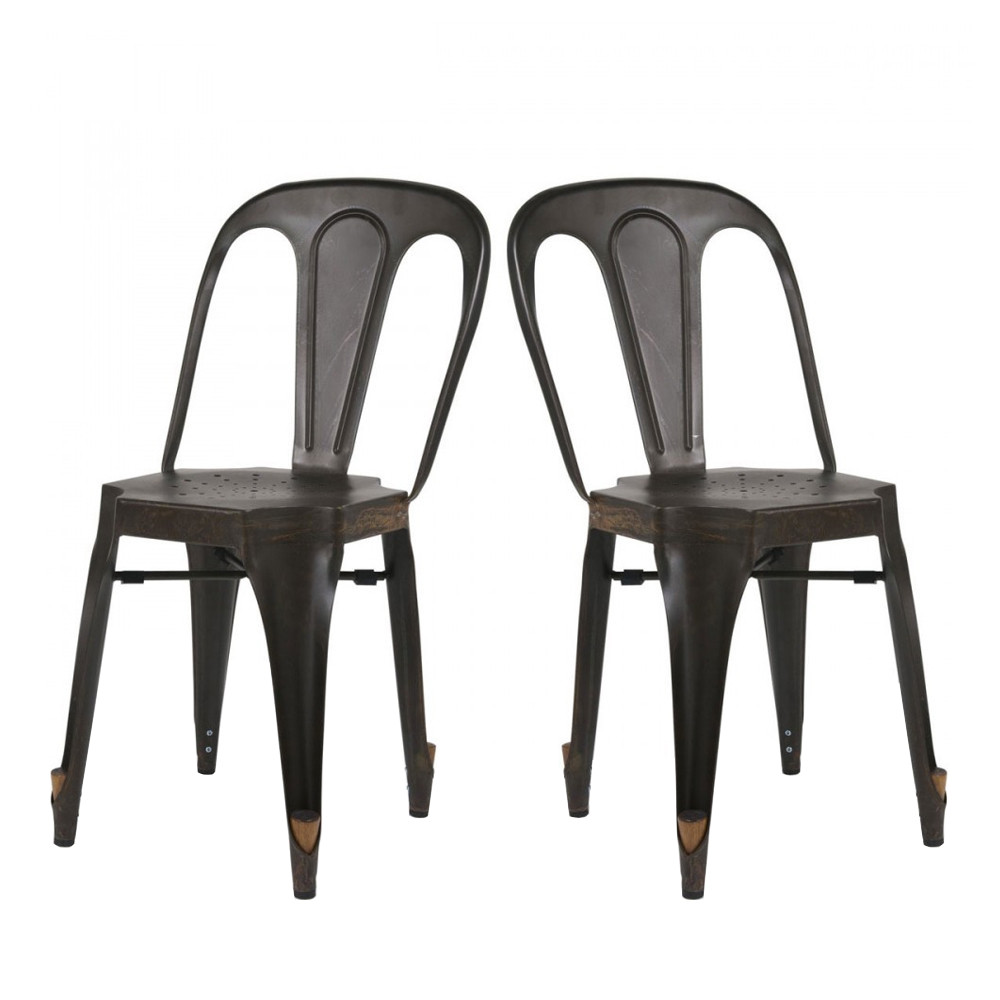 Chaise industrielle style multipl 39 s par drawer - Chaises industrielles ...