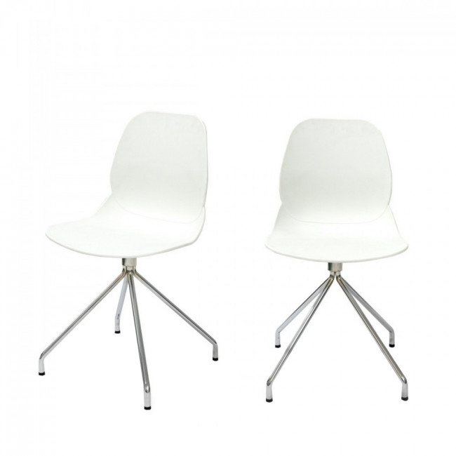 Lot de 2 chaises design Doki-Doki Steel