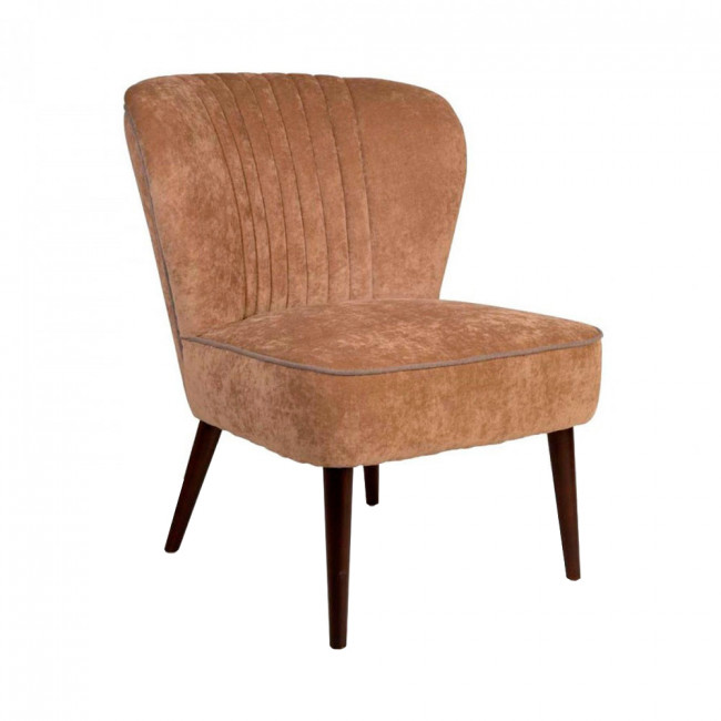 Fauteuil cocktail vintage Smoker Dutchbone Gris