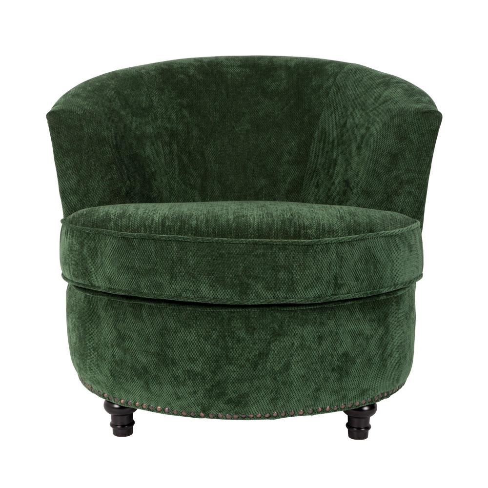 fauteuil vintage en velours freux dutchbone drawer. Black Bedroom Furniture Sets. Home Design Ideas