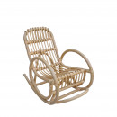 Rocking chair vintage en rotin Kids
