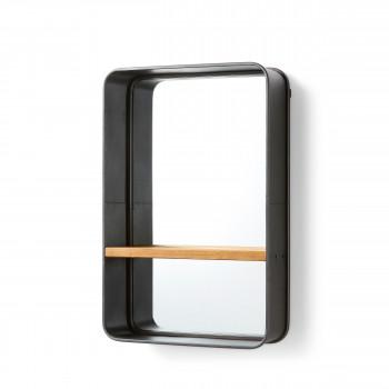 Miroir avec étagère Cellini