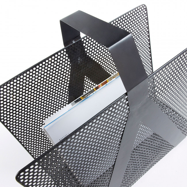 Porte revues en métal perforé Graph