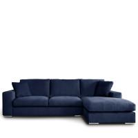 canap d 39 angle droit tissu pescara de modalto drawer. Black Bedroom Furniture Sets. Home Design Ideas