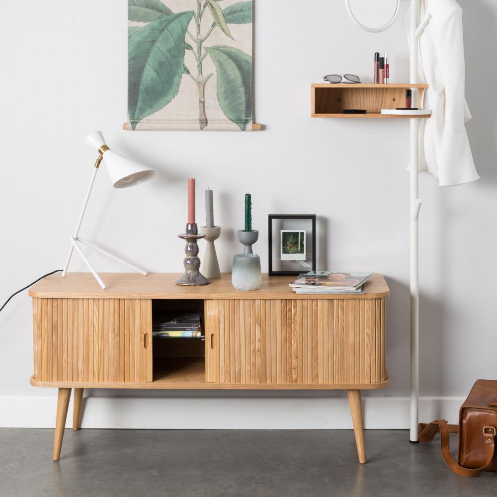 buffet design bois barbier zuiver. Black Bedroom Furniture Sets. Home Design Ideas