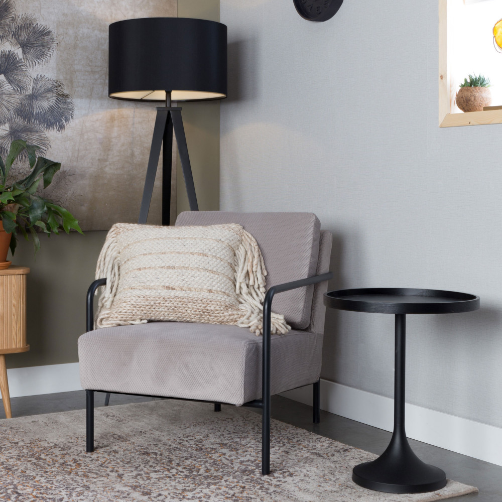 table d 39 appoint ronde 46 cm jason zuiver drawer. Black Bedroom Furniture Sets. Home Design Ideas