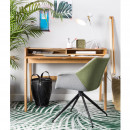 Tapis motif palmier vert Palm by Day Zuiver