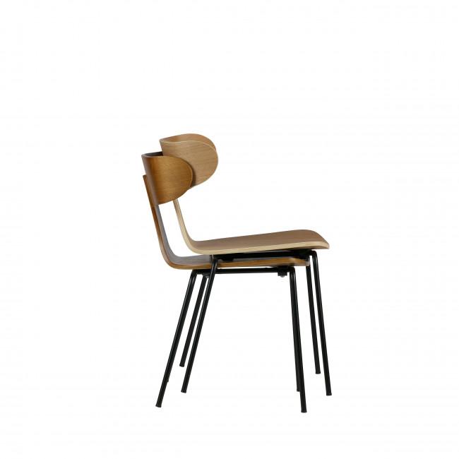 Lot de 2 chaises design Form