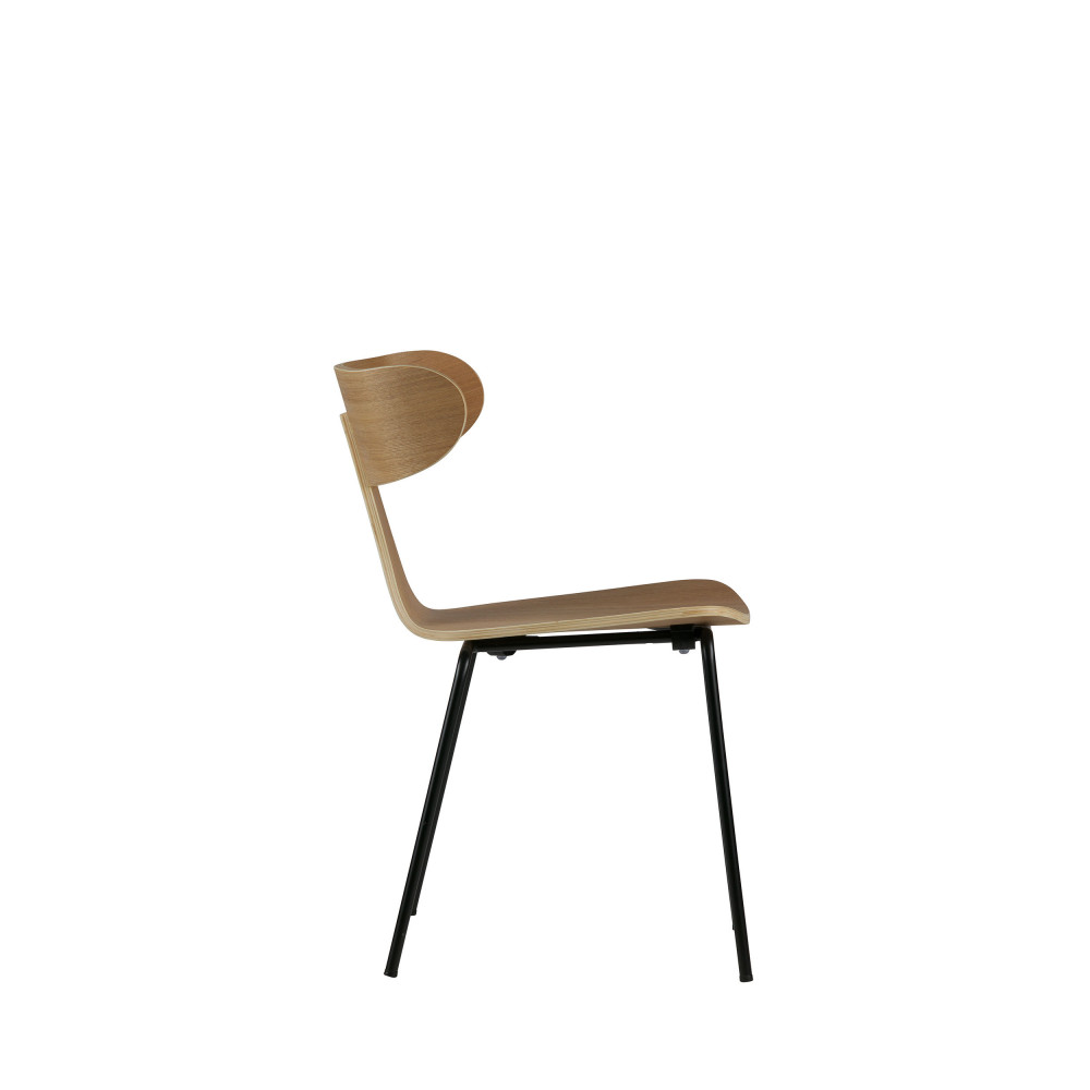 2 Chaises Form Empilables Design Woood mNO80nvw