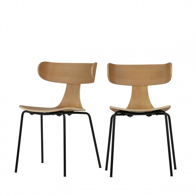 Lot de 2 chaises design Form