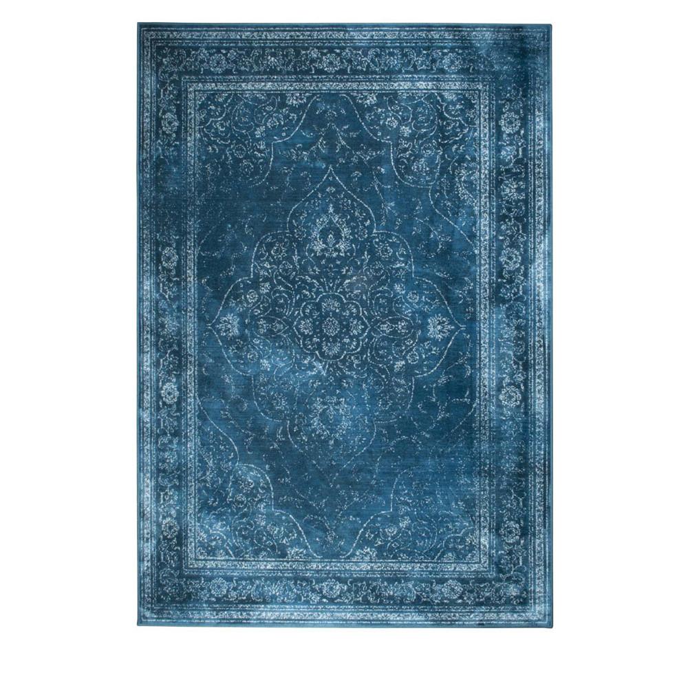 tapis iranien rugged bleu style persan par drawer. Black Bedroom Furniture Sets. Home Design Ideas