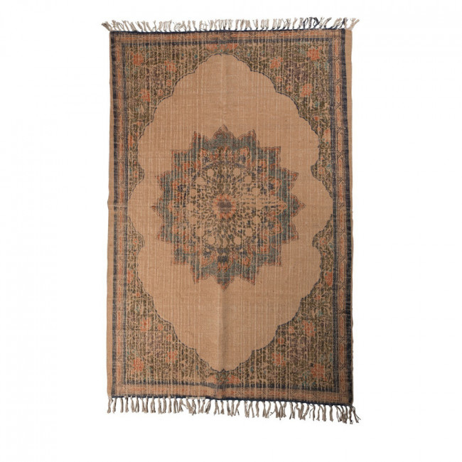 tapis vintage en jute rural par drawer. Black Bedroom Furniture Sets. Home Design Ideas