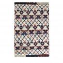 Tapis de salon style berbère laine multicolore Kasoon