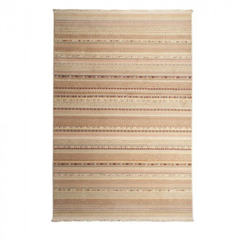 Tapis de passage / couloir déco vintage beige Nepal Light