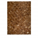 Tapis patchwork fait main marron Bawang Dutchbone