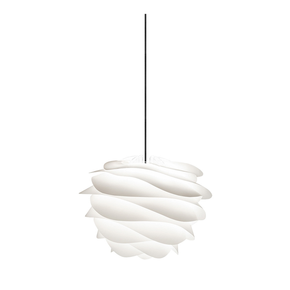 Suspension blanche design free modern lighting design for Luminaire suspension metal