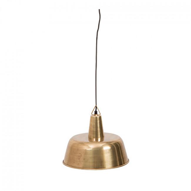 Suspension design métal finitions dorées Brass Freak