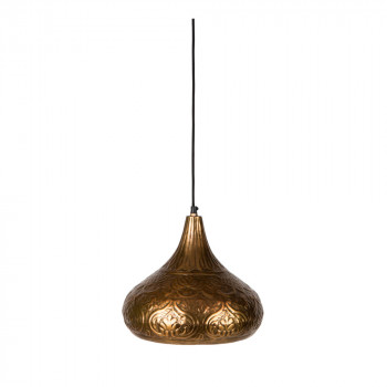 Suspension vintage laiton Oni Dutchbone