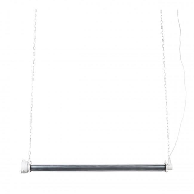 Suspension industrielle métal XL Prime Zuiver Noir