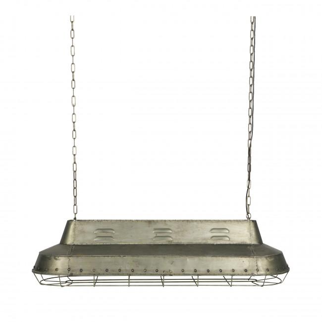Suspension industrielle métal Spotlight