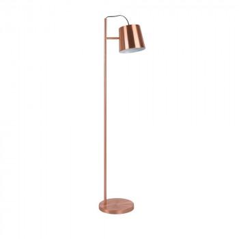 Lampadaire trépied en métal noir et bronze hauteur 124cm