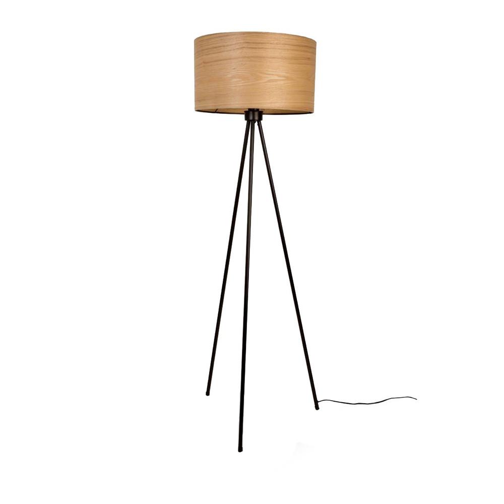 lampadaire tr pied bois woodland. Black Bedroom Furniture Sets. Home Design Ideas
